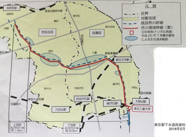 呑川流域対策
